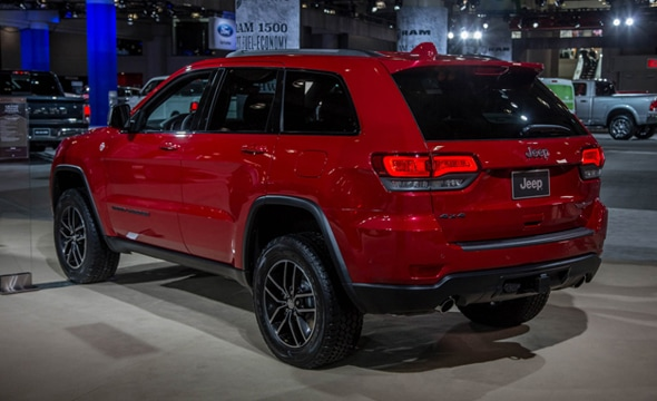 The Grand Cherokee Trailhawk Will Sit As The Sixth Trim After The Laredo,  Limited, Overland, SRT And The Summit. It Will Be Available With Rear Wheel  Drive ...