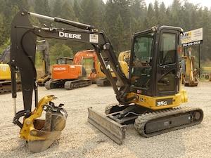 2016 JOHN DEERE 35G Excavator