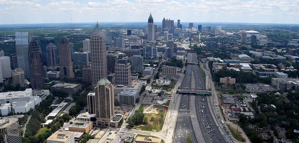 View of Atlanta, Georgia