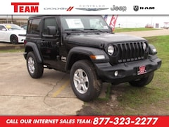 New 2020 Jeep Wrangler SPORT S 4X4 Sport Utility LW228143 in Huntsville, TX