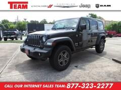 New 2018 Jeep Wrangler UNLIMITED SPORT S 4X4 Sport Utility JW139128 in Huntsville, TX