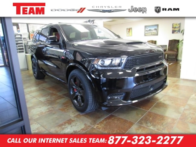 New 2018 Dodge Durango SRT AWD Sport Utility in Huntsville, TX