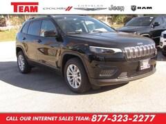 New 2020 Jeep Cherokee LATITUDE FWD Sport Utility LD561691 in Huntsville, TX
