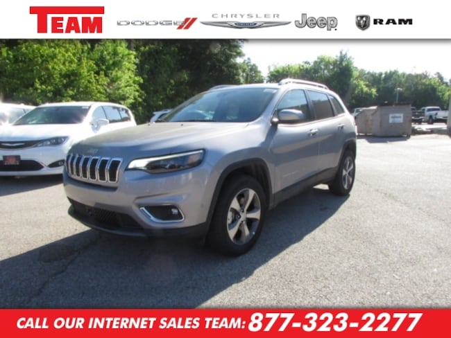New 2019 Jeep Cherokee LIMITED 4X4 Sport Utility in Huntsville, TX