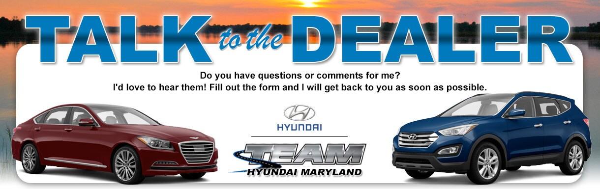 Team Hyundai | New Genesis, Hyundai dealership in Lexington Park, MD