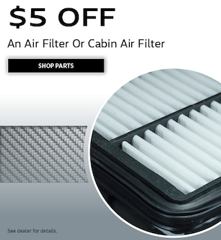 An Air Filter Or Cabin Air Filter