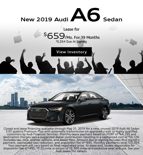 2019 Audi A6 Sedan-Lease