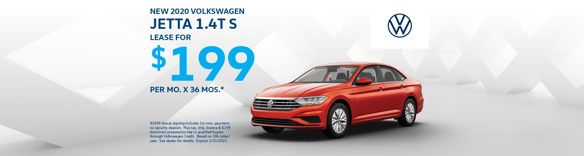 2020 Jetta $199 Lease at Team VW | Merrillville, IN
