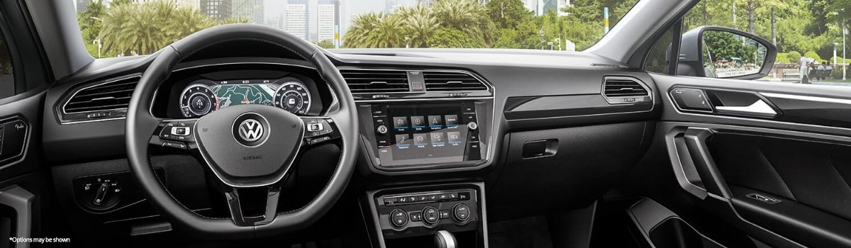 2018 VW Tiguan Interior