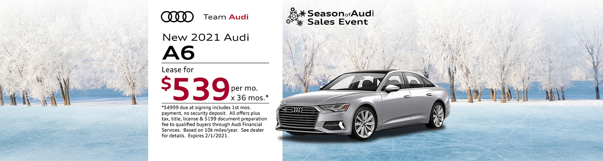2021 Audi A6 Special Offer | Merrillville, IN