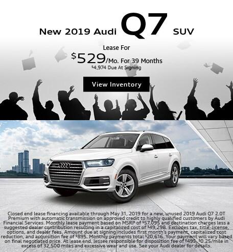 2019 Audi Q7 SUV-Lease