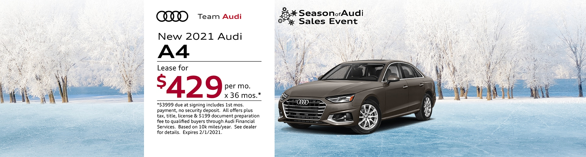 2021 Audi A4 Special Offer | Merrillville, IN