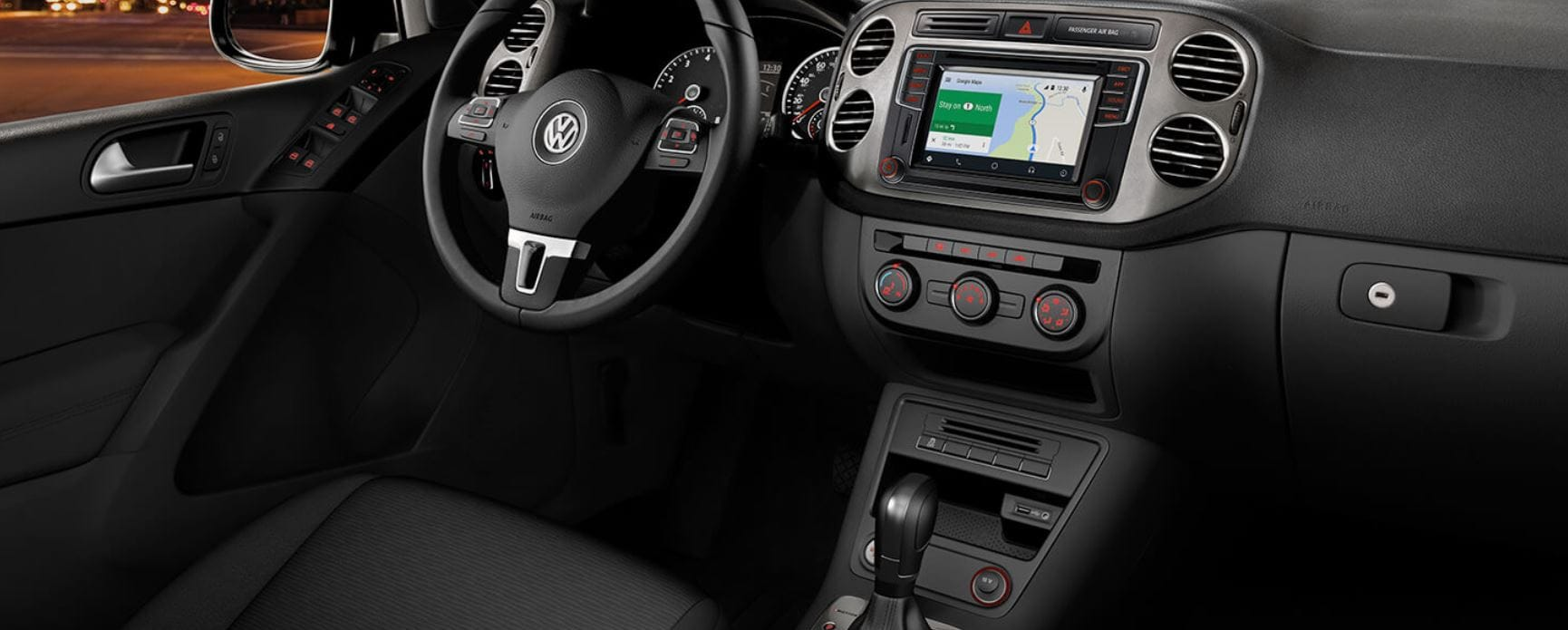 2018 VW Tiguan Limited Interior