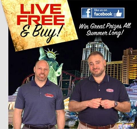 Live Free & Buy at Team Kia