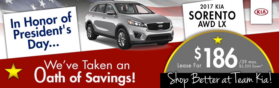 2017 Kia Sorento AWD LX at Team Kia
