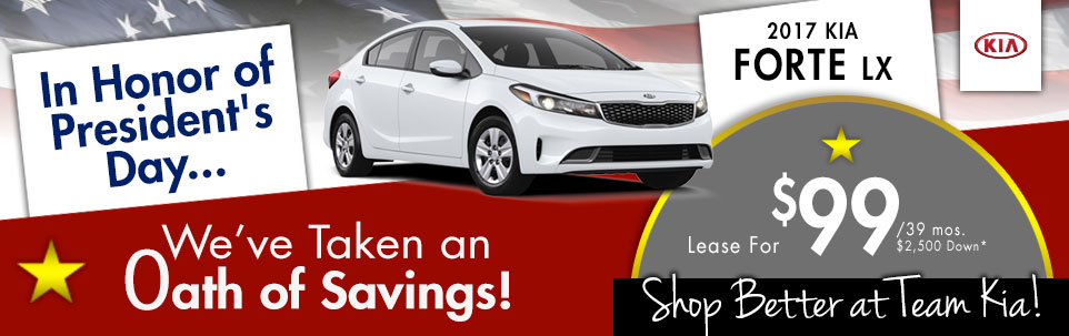 2017 Kia Forte LX at Team Kia