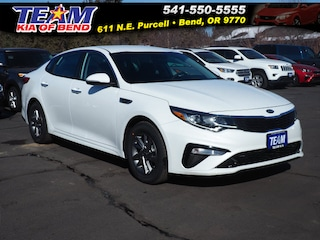 New 2019 Kia Optima LX Sedan 5XXGT4L39KG341823 in Bend, OR