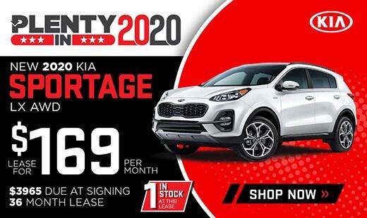 New 2020 Kia Sportage