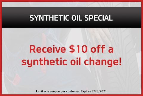 Synthetic Oil Special