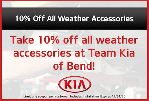 Take 10% Off All Weather Accessories