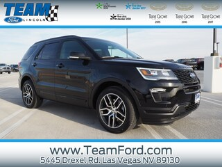 New 2019 Ford Explorer Sport SUV in Las Vegas, NV