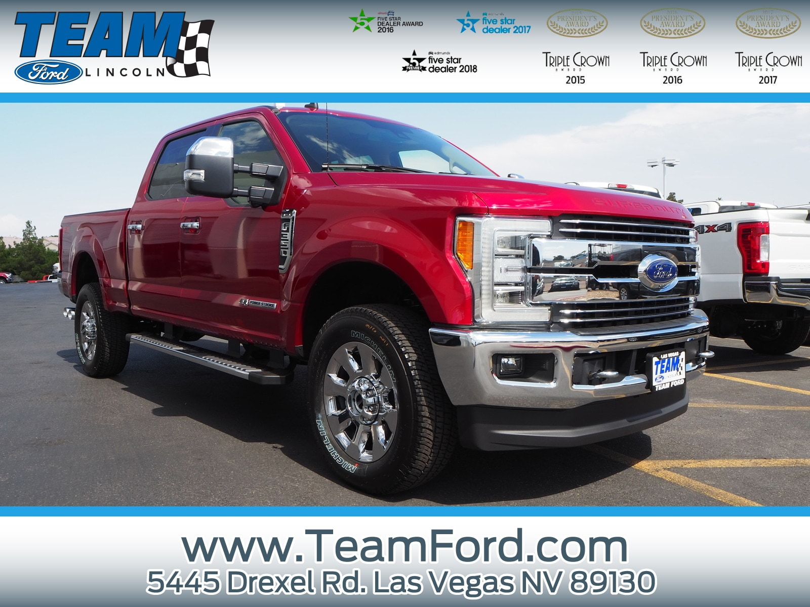 Exceptional New 2019 Ford Super Duty F 350 SRW Lariat Truck In Las Vegas, NV