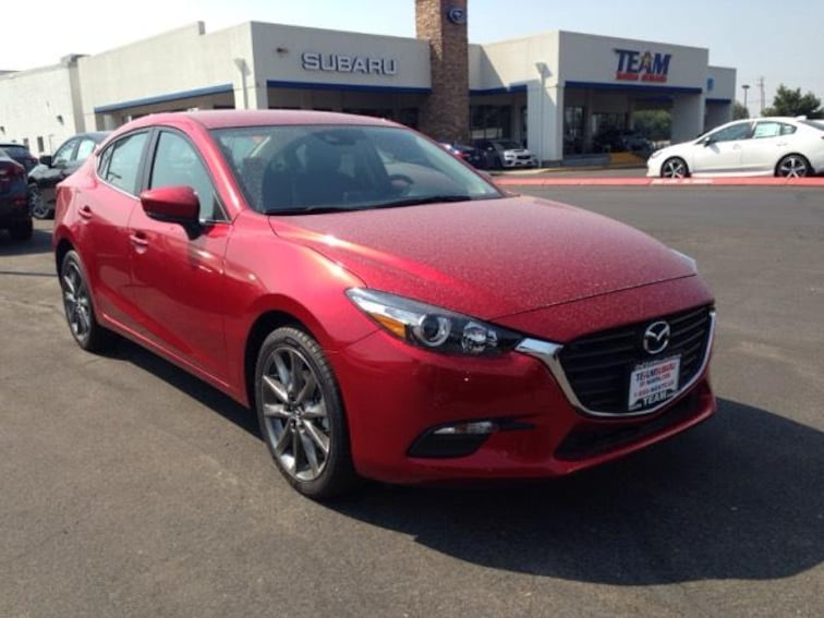 Used 2018 Mazda Mazda3 4-Door Touring Auto Car in Caldwell near Boise, ID
