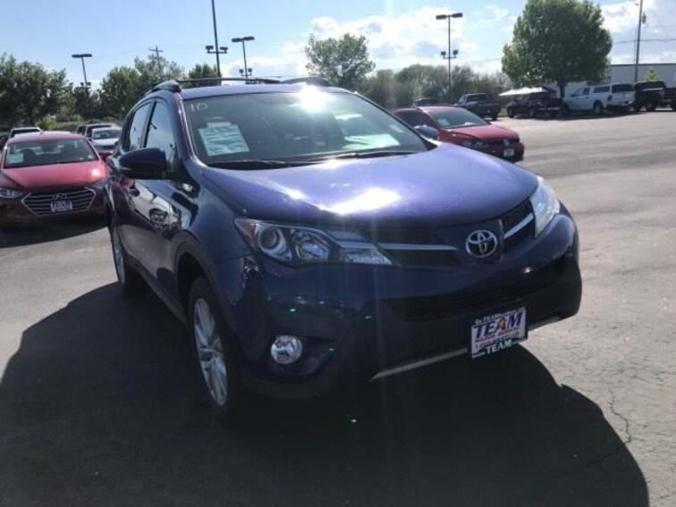 Used 2015 Toyota RAV4 AWD 4dr Limited Sport Utility in Caldwell near Boise, ID