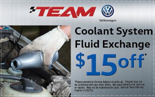 $15 Off Coolant Fluid Exchange