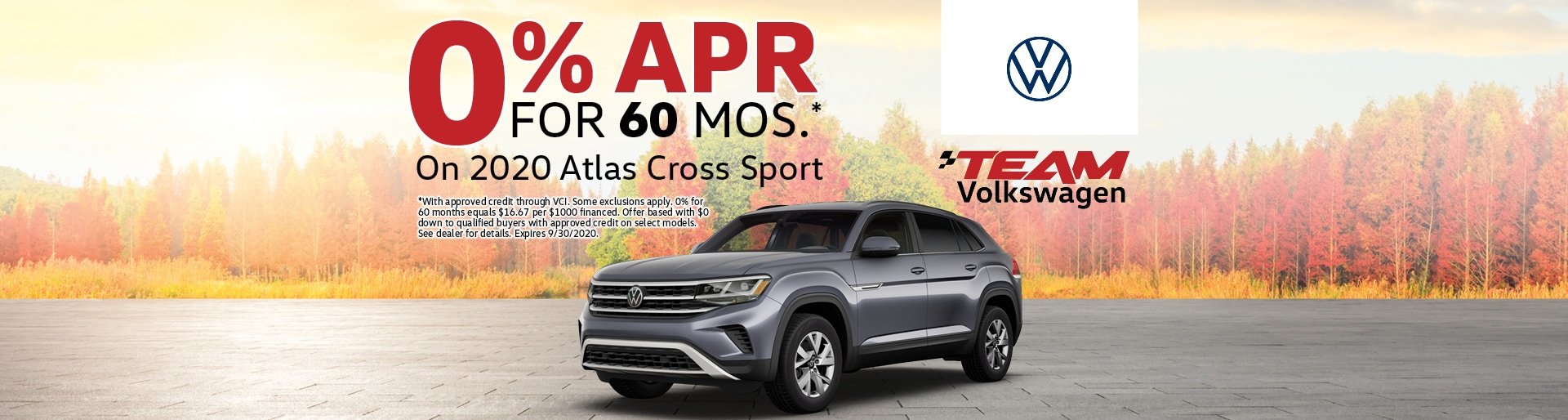 2020 Atlas Cross Sport 0% for 60 Months | Merrillville, IN