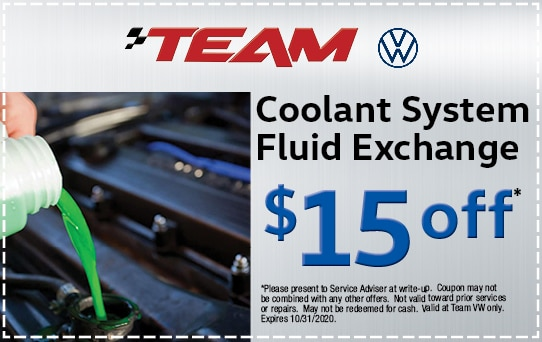 Coolant Exchange at Team Audi | Merrillville, IN