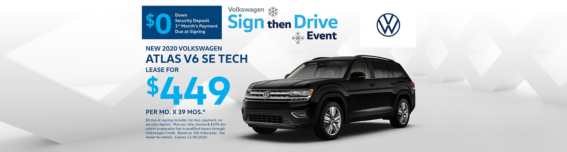2020 Volkswagen Atlas Special Offer | Merrillville, IN