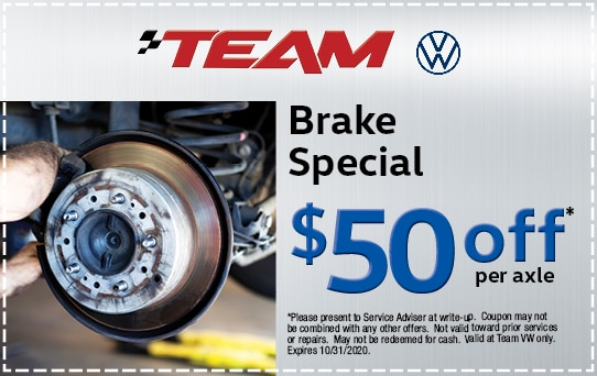 Brake Special at Team Audi | Merrillville, IN