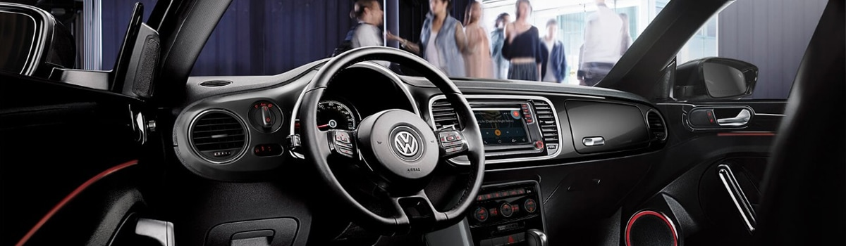 2018 VW Beetle Interior