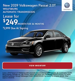 New 2019 Volkswagen Passat 2.0T Wolfsburg