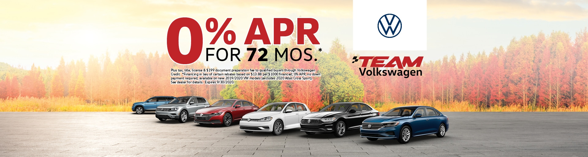 0% for 72 Months for Volkswagen Models | Merrillville, IN