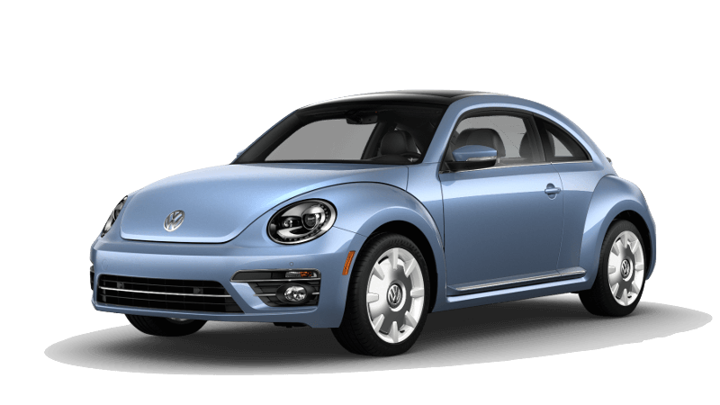 A blue 2019 Volkswagen Beetle Final Edition SEL