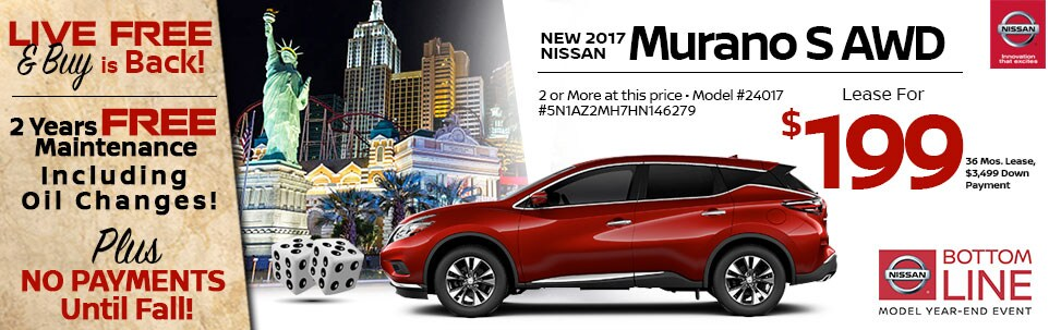2017 Nissan Murano S AWD at Team Nissan New Hampshire