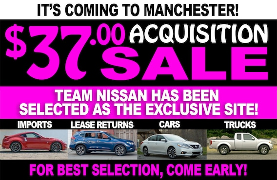 Team Nissan North >> 37 Acquisition Sale At Team Nissan North Manchester Nh