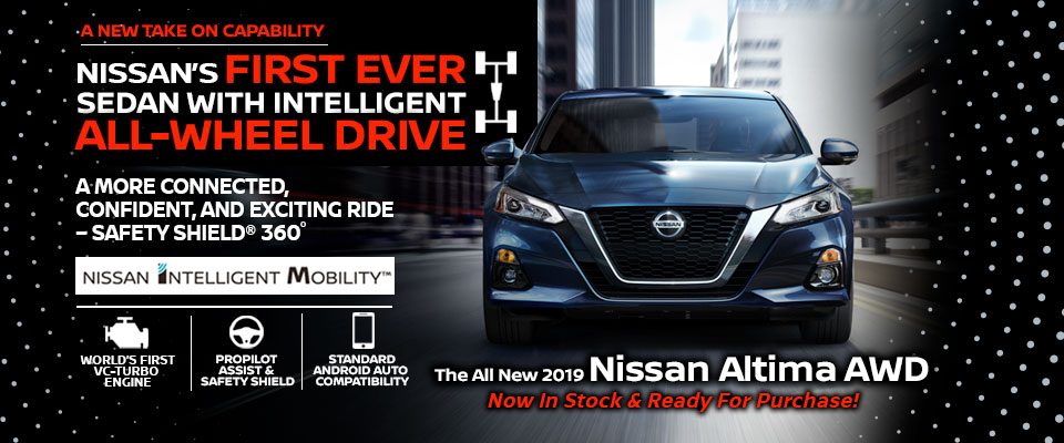 First Team Nissan >> Brand New 2019 Nissan Altima In Stock In Lebanon Nh Team Nissan North