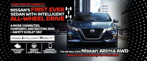 First Team Nissan >> Brand New 2019 Nissan Altima In Stock In Manchester Nh