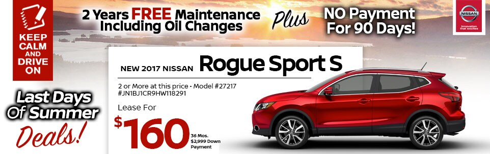 2017 Nissan Rogue Sport S at Team Nissan New Hampshire