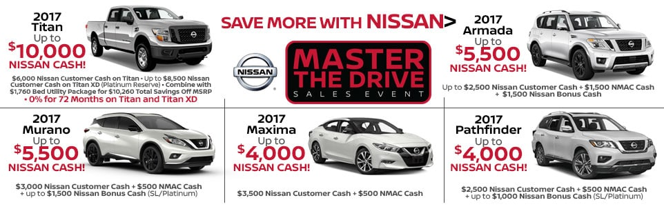 Master the Drive Sales Event at Team Nissan New Hampshire