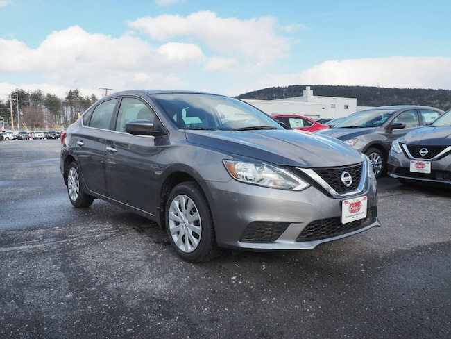 New 2019 Nissan Sentra SV Sedan in Lebanon NH