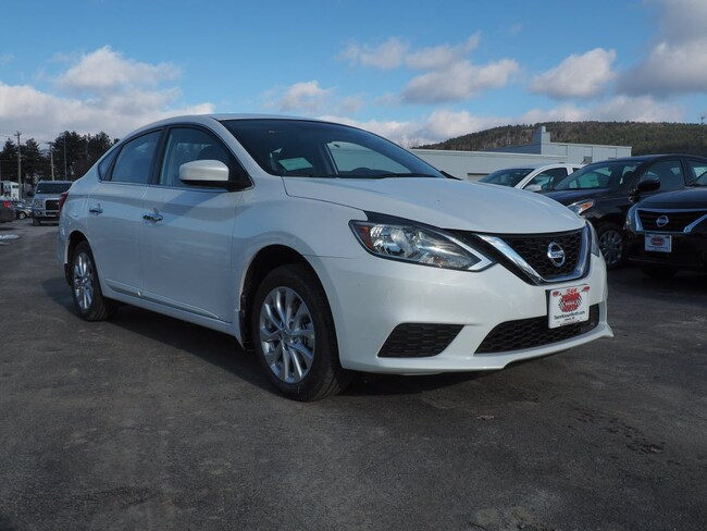 New 2019 Nissan Sentra SV Sedan in Lebanon NH