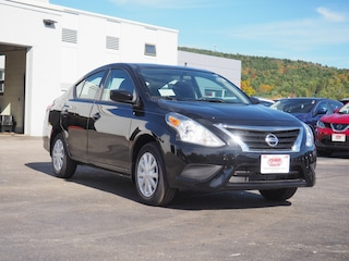 New 2019 Nissan Versa 1.6 S Sedan in Lebanon NH