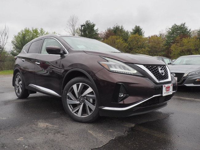 New 2019 Nissan Murano SL SUV in Lebanon NH