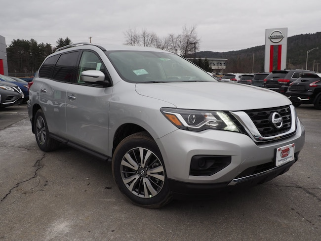 New 2019 Nissan Pathfinder S SUV in Lebanon NH