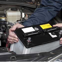 Genuine Nissan Replacement Battery