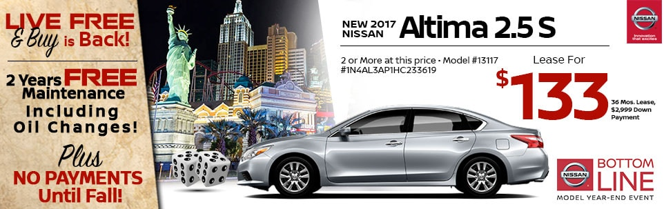 2017 Nissan Altima 2.5 S at Team Nissan North